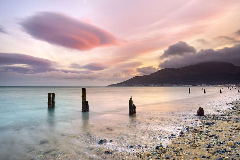 COLOUR - Newcastle Beach by Thomas Richardson (11 marks)