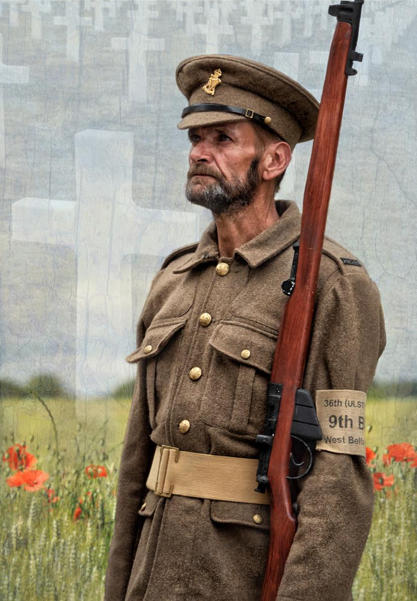 COLOUR - Rememberance by Sian Kerr (10 marks)