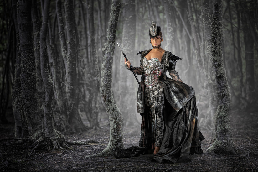 COLOUR - Enchantress of the Forest by Bob Given  (14 marks)
