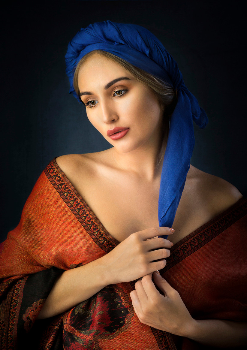 COLOUR - Classical Beauty by William Allen (18 marks)