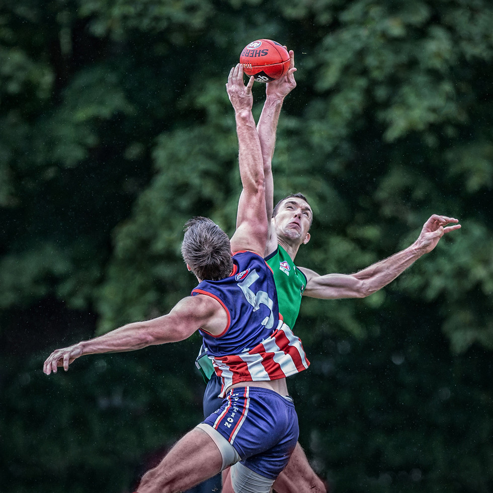 PDI - Aussie Rules Cruciform by Bob Given (18 marks)