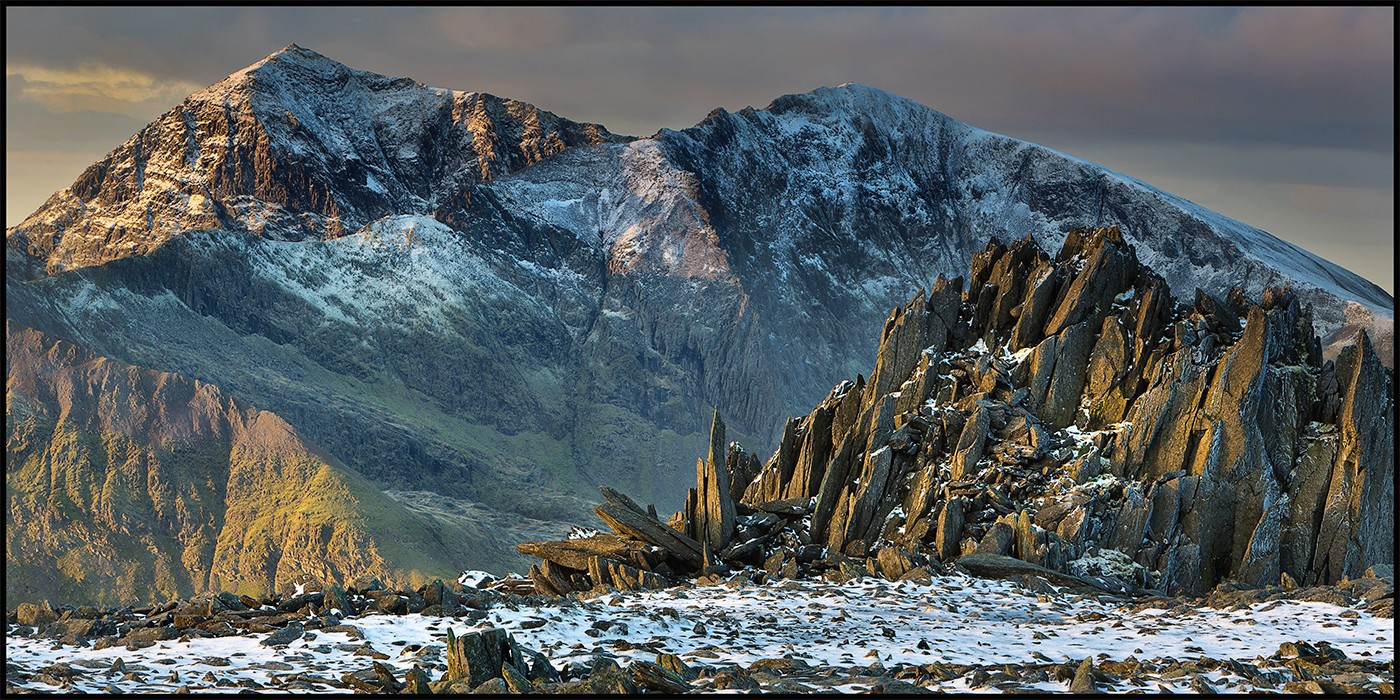 COLOUR - Snowdon and Castell y Gwynt by Rory Trappe (19 marks)