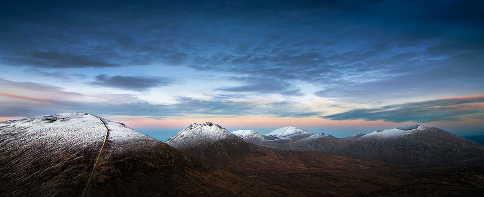 PDI - Winter In The Mournes by Roger Eager (10 marks)