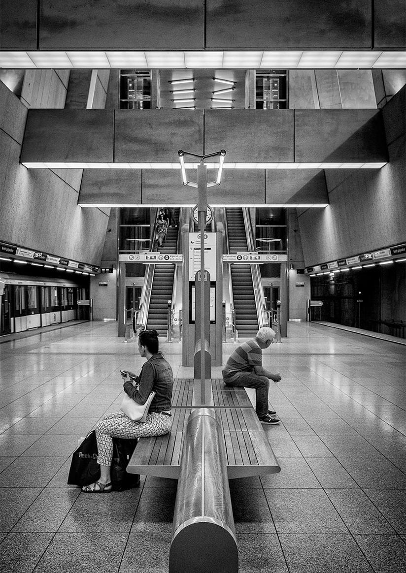 MONO - Waiting by Brian Maguire (12 marks)