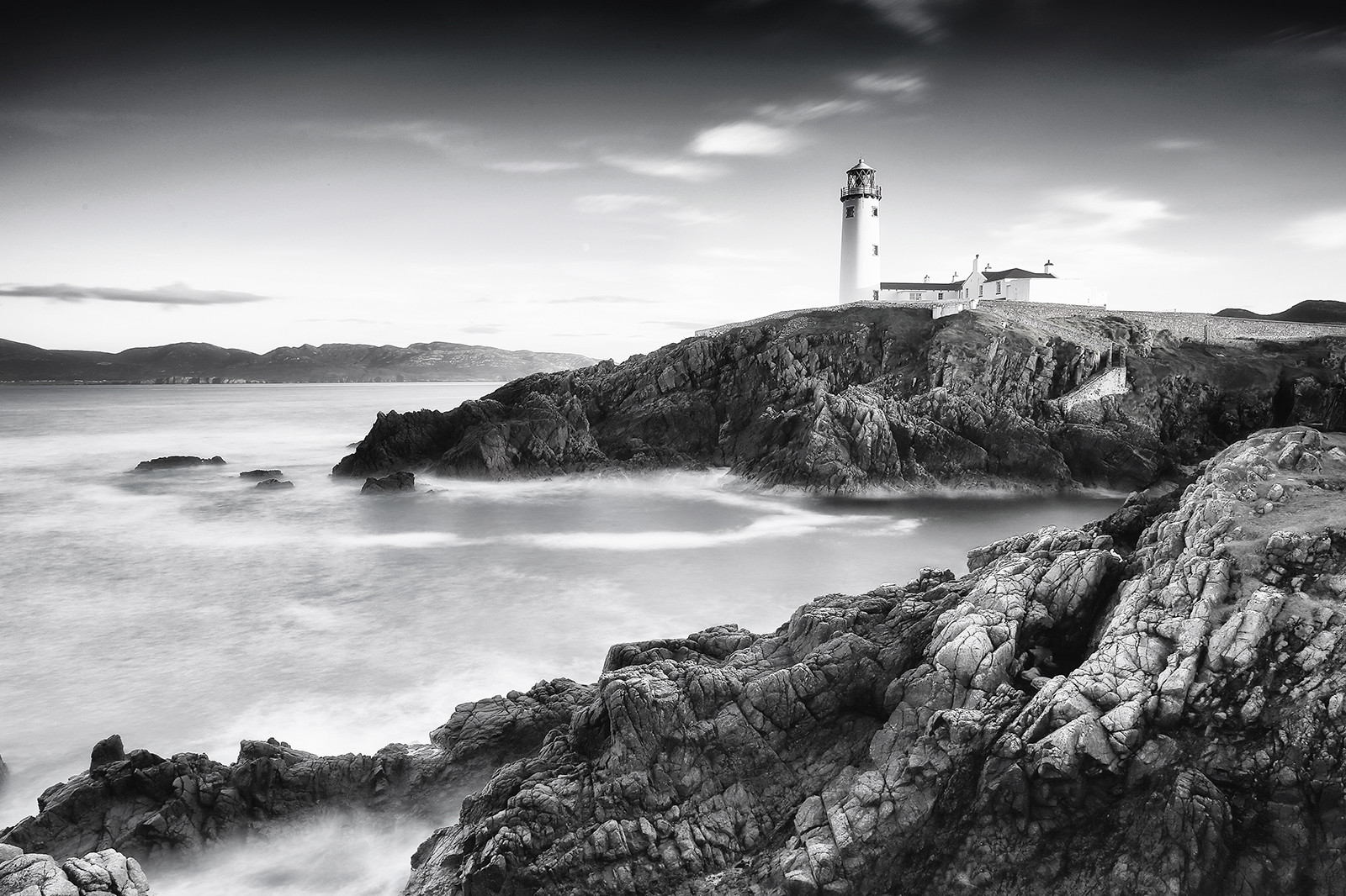 MONO - Fanad Lighthouse by Brian Curran (10 marks)