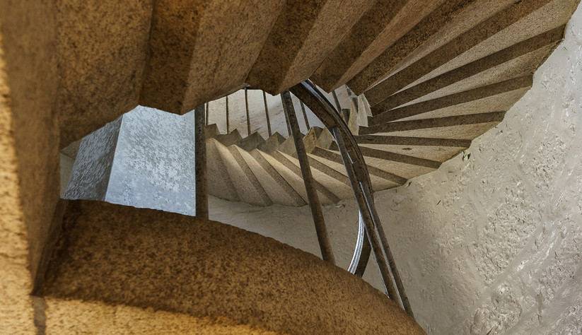 PDI - Staircase by A.P. Cameron - Mitchell (8 marks)