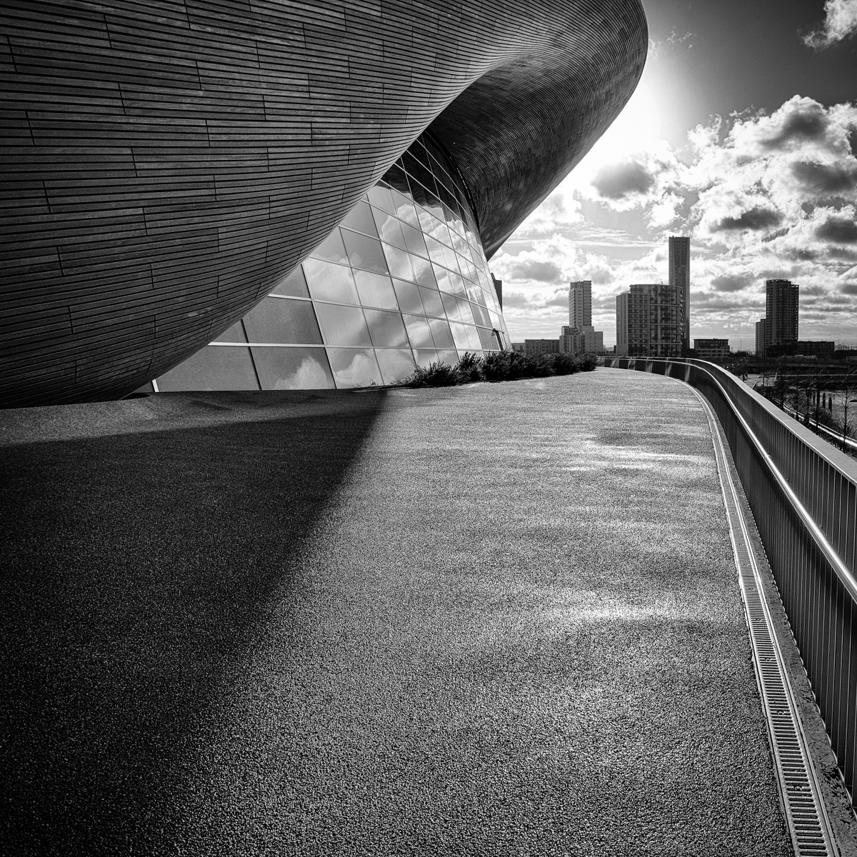 MONO - London Aquatic Centre by Nigel Bell (8 marks)