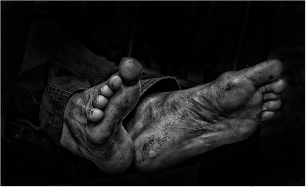 PDI - Feet of the Road by Gareth Martin (18 marks)