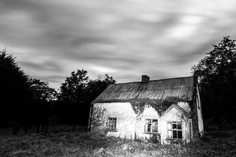 MONO - Old Border House by Simon Gray (7 marks)