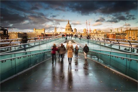"""Millennium Bridge & St Paul's"" by Paul Killeen (19 marks)"