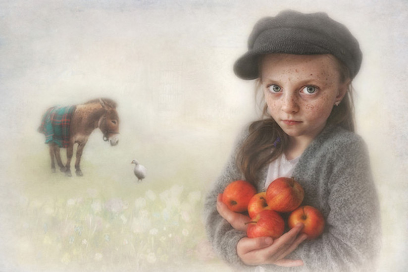 COLOUR - Apple Thief by Vadim Lee (20 marks)
