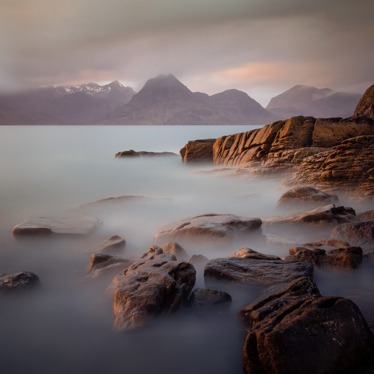 PDI - Elgol Evening by Darren Brown (12 marks)