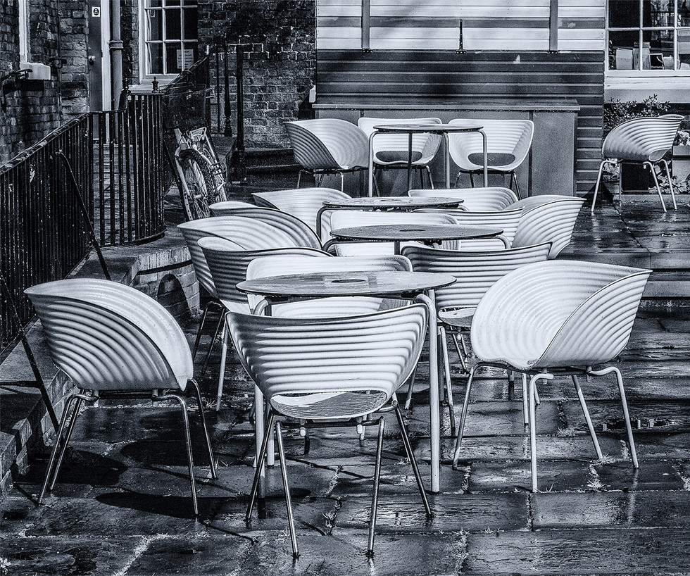 MONO - More Seating Inside by Iris Rainey (8 marks)