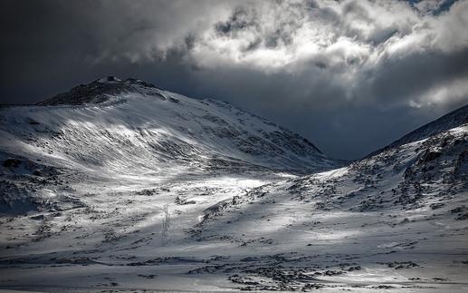 """Spring Snowfall"" by John Tinneny"