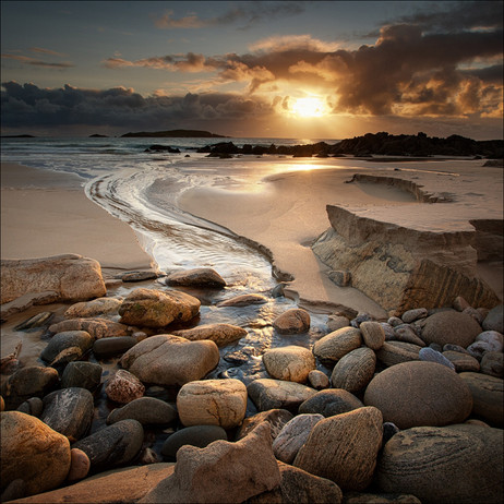 """Harris Beach"" by Colin Ross"