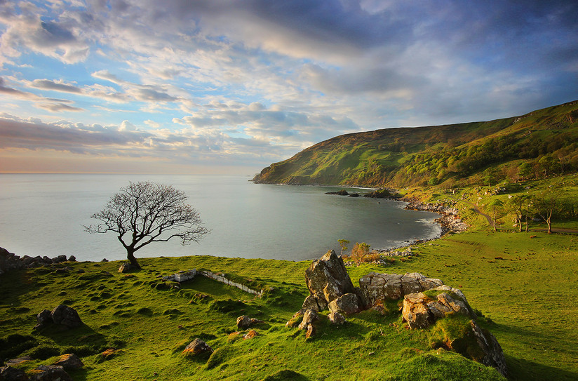 PDI - Murlough Bay Sunrise by Brian Curran (10 marks)