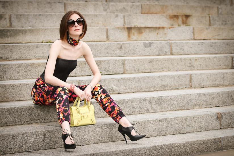 PDI - Bag Lady by Adrian Quinn (8 marks)