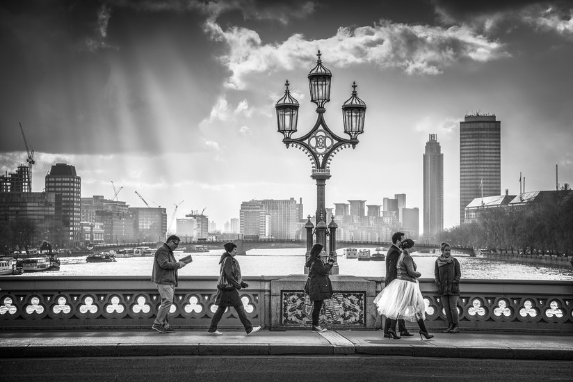 MONO - On Westminster Bridge by Dennis Wood (15 marks)