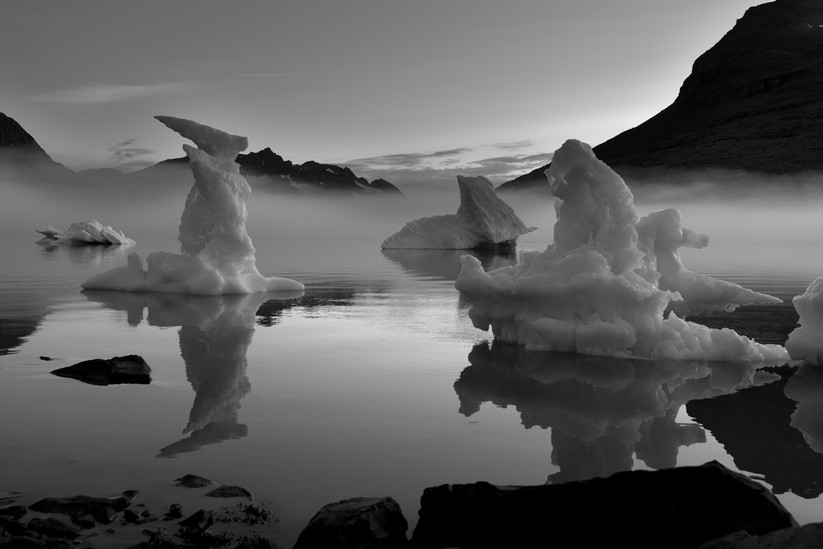 MONO - Mikis Fjord at Midnight by A.P. Cameron - Mitchell (12 marks)
