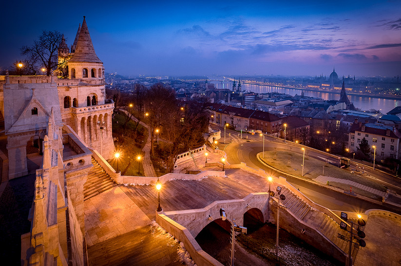 PDI - Fishermans Bastion by Brian Maguire (10.5 marks)