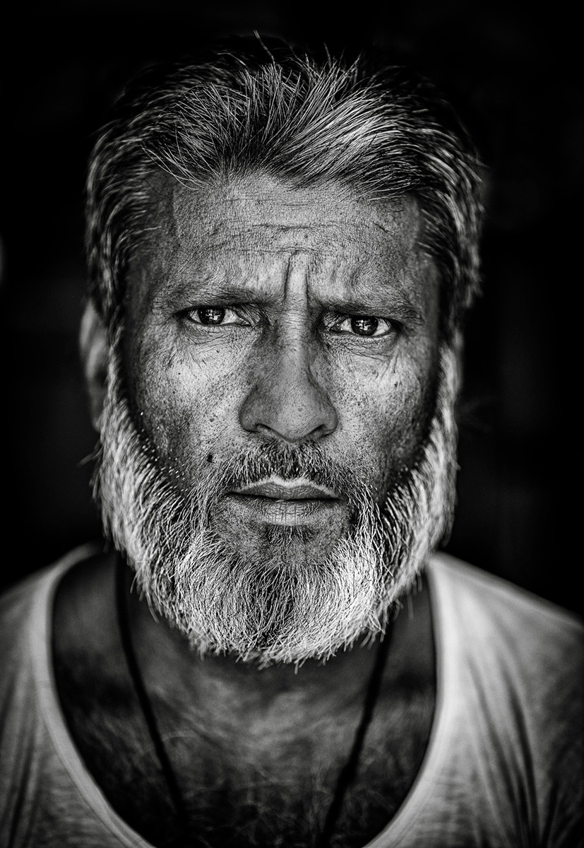 MONO - Kolkata Shopkeeper by Arthur Carron (18 marks)