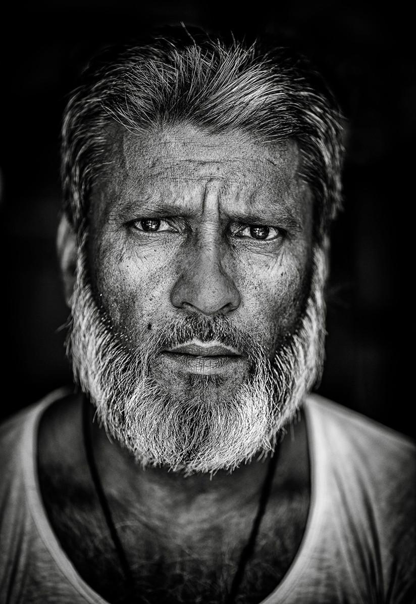 MONO - Kolkata Shopkeeper by Arthur Carron (18 marks)