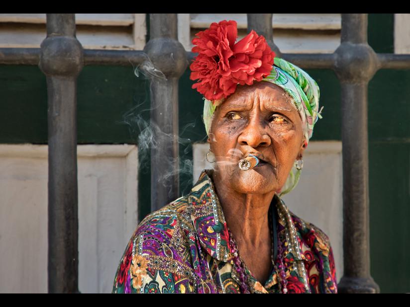 COLOUR - Cuban Style by Dorothy Flint (17 marks)