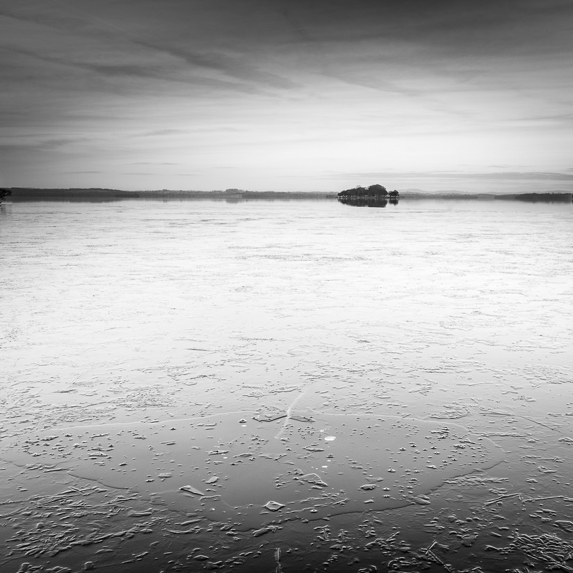 MONO - Frozen Lake by Wayne Hazlett (8 marks)