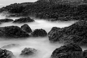 MONO - Causeway Stones by Ian Burnside (8 marks)