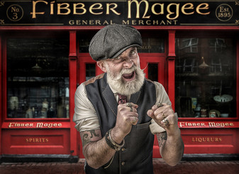 """Fibber Magee"" by Joe Vize (16 marks)"