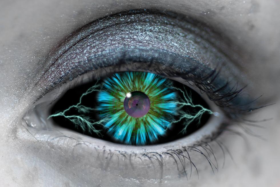 COLOUR - Electric Eye - Judas Priest by Steve Stewart (11 marks)