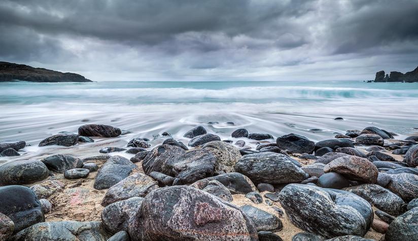 COLOUR - Stony Shore by Pauline O'Flaherty (11 marks)
