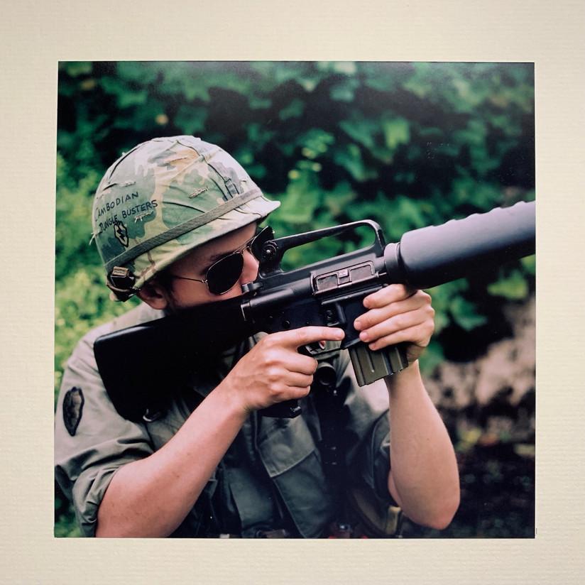 COLOUR - Universal Soldier - Buffy Sainte-Marie by Joe McKay  (9 marks)