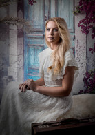 COLOUR - Lady In White by Ged Lydon (9 marks)