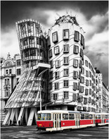 """""""The Dancing House, Prague"""" by Stephen McWilliams"""