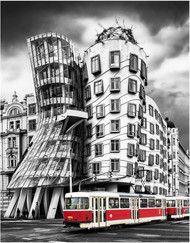 """The Dancing House, Prague"" by Stephen McWilliams"