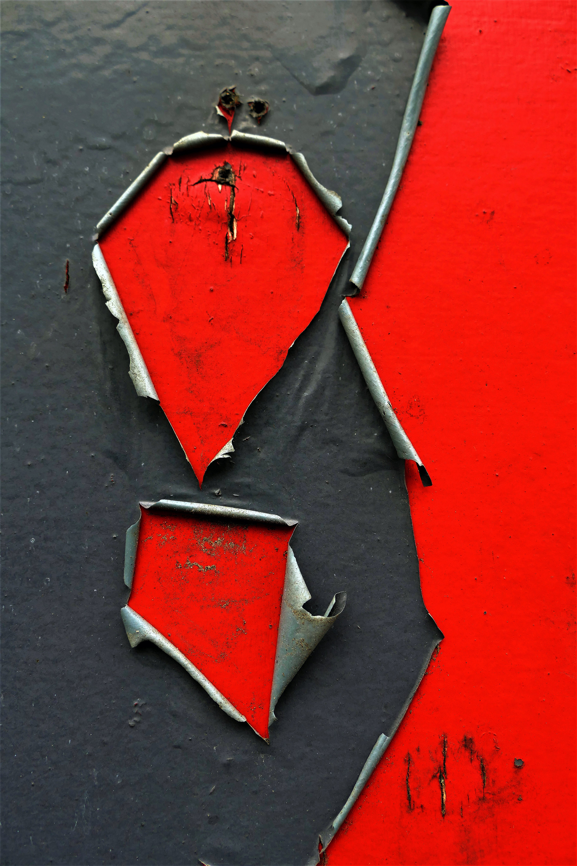 "COLOUR - ""Peeling Paint"" by Val Devine (7.5 marks)"