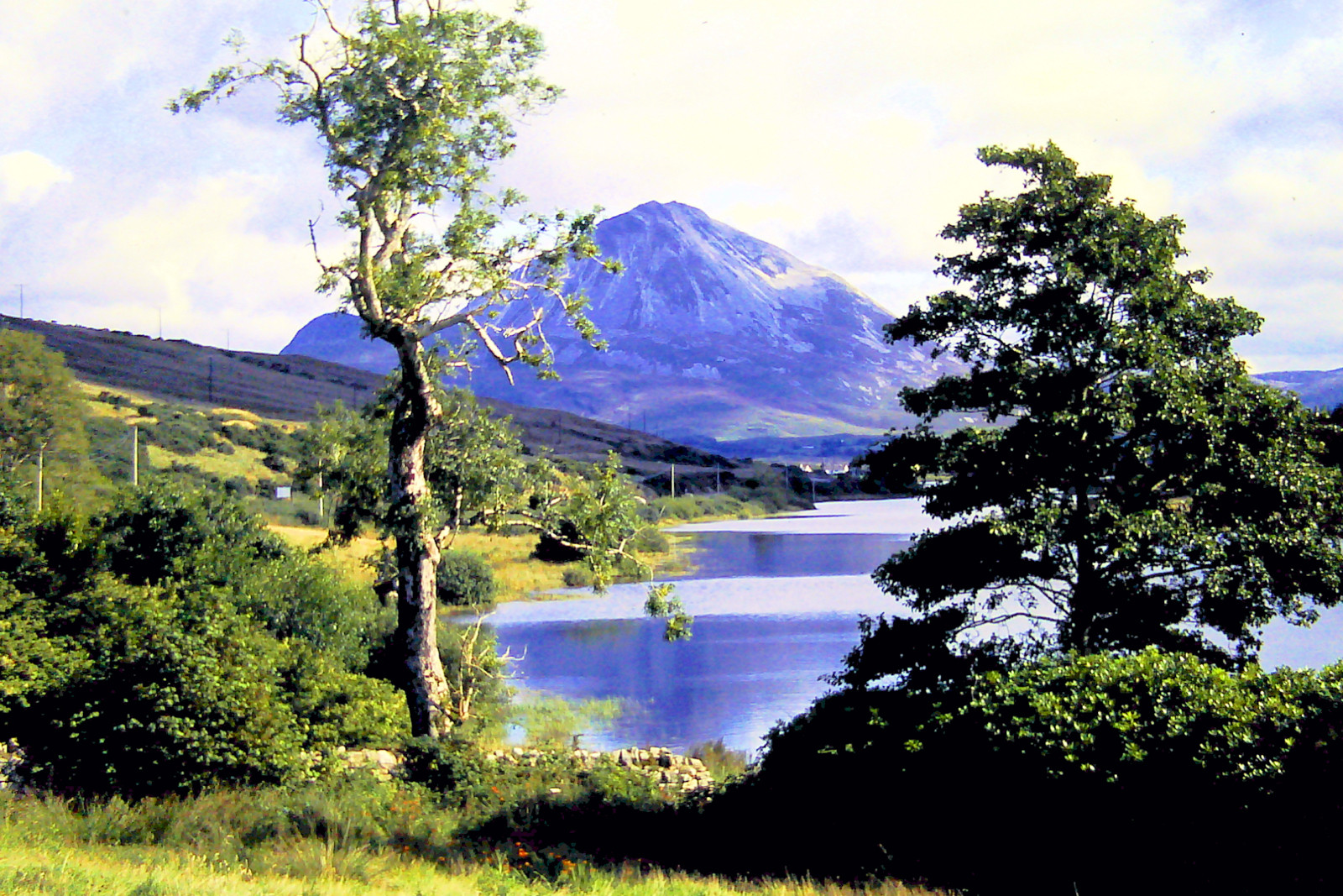 PDI - Mount Errigal by Eddie Stone (7 marks)