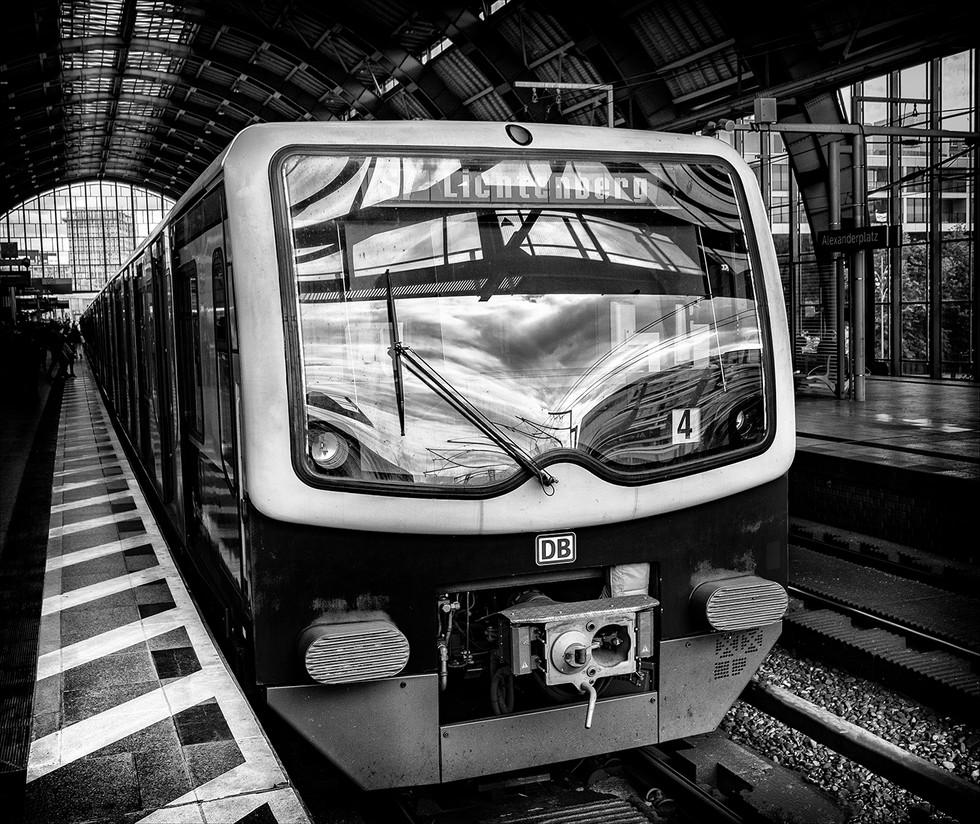 MONO - Lichtenberg Train by Ray Magill ( 10 marks)