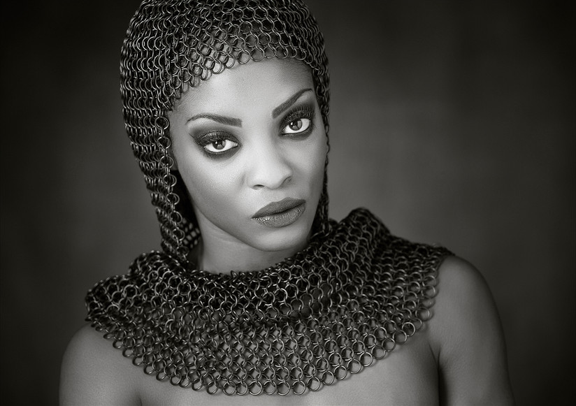 MONO - Anna in Chainmail by Hugh Wilkinson (18 marks)
