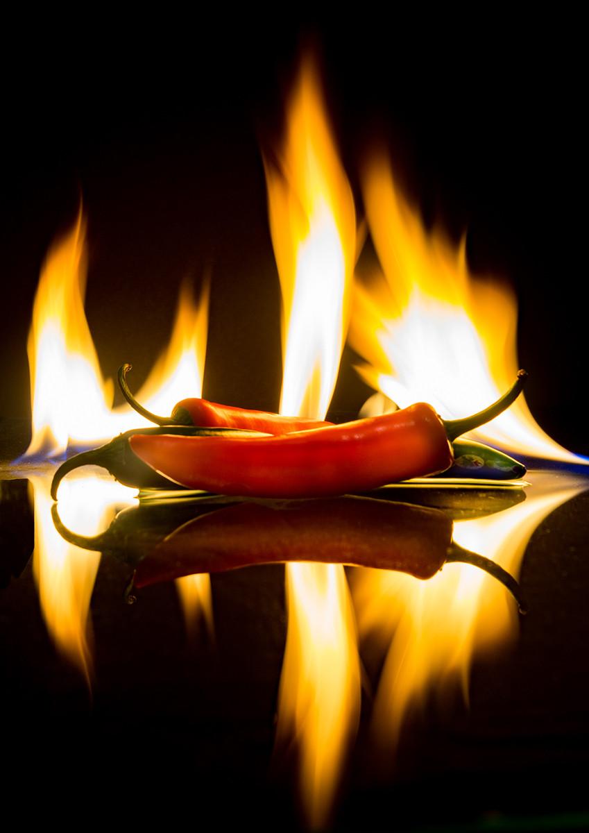COLOUR - The Heat is On - Glenn Frey by John Cregan (9 marks)