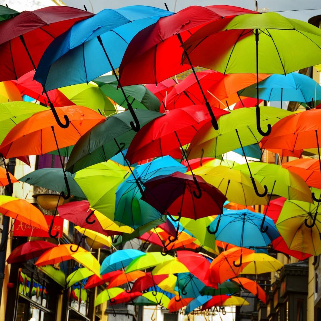 COLOUR - Umbrella - Rhianna by Christina McQuillan (9 marks)