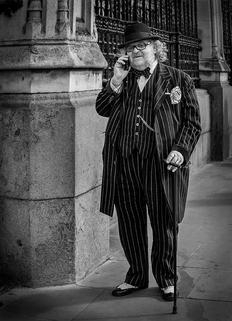 MONO - City Gent by John Bell (17 marks)