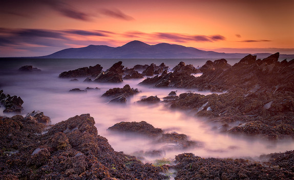 """Mournes Sunset"" by John Tinneny"