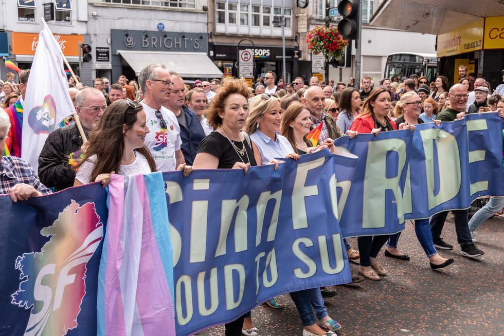 COLOUR - Belfast Pride by Harry Graham (9 marks)