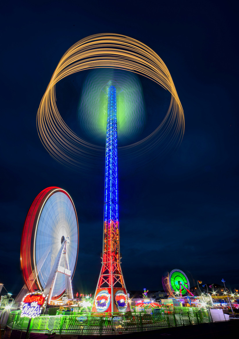 COLOUR - All the Fun of the Fair by Joe Beattie (10 marks)