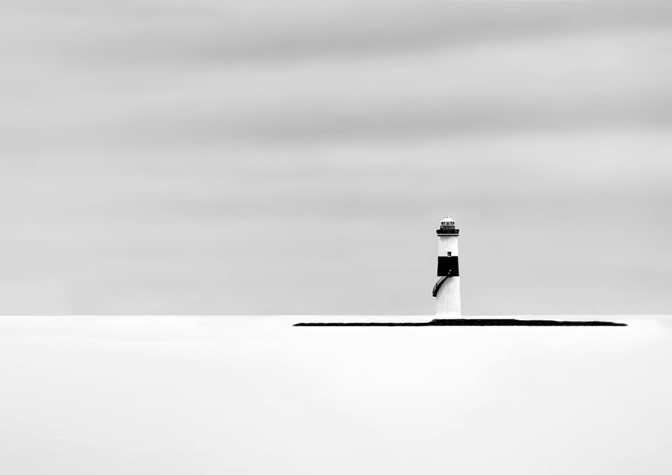 MONO - Rosses Point Lighthouse by William Allen (12 marks)