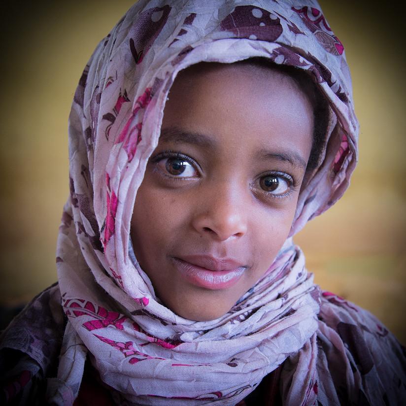 COLOUR - Ethiopian Portrait by Mark Jones (11 marks)