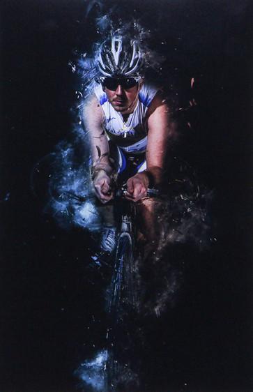 """""""Triathlete"""" by Robert Sergeant"""