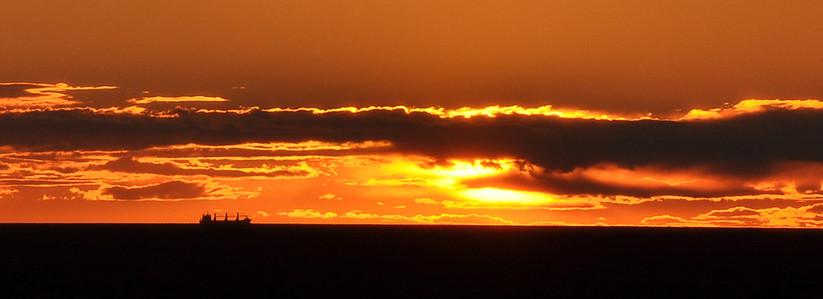 PDI - Baltic Sunset by Frank Robinson (9 marks)